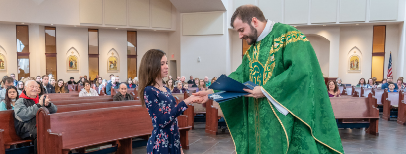 Respect Life contest winners recognized at Masses throughout Diocese