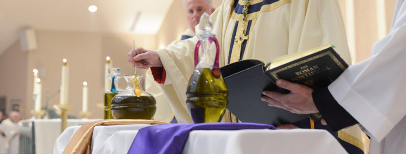 Bishop to celebrate Mass with College Students, Diocese prepares for Chrism Mass