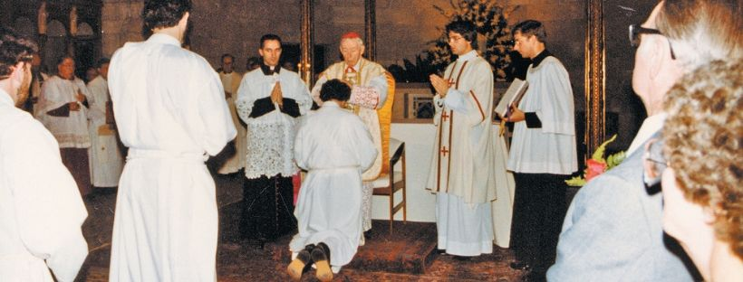 Bishop O'Connell celebrates anniversary of ordination to the priesthood
