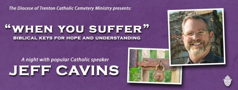 "Due to a power outage in St. Robert Bellarmine Co-Cathedral, the Senior Spirituality Day, will be moved to St. Dominic Parish, Brick; This fall, speaker and author Jeff Cavins will visit St. Isaac Jogues Parish, Marlton, to offer his presentation ""When You Suffer: Biblical Keys for Hope and Understanding"", and Bishop David M. O'Connell, C.M. paid a visit to the students enrolled in the summer religious education programs of St. Joesph Parish, Toms River July 11 and St. Benedict Parish, Holmdel July 18."