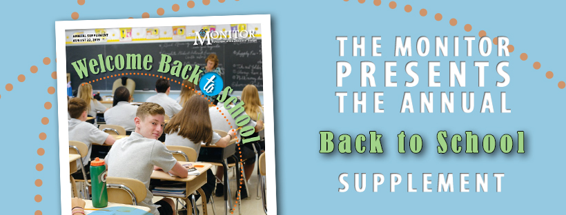 The annual Back to School Supplement is here and is chock full of information about the coming school year – from new school leaders, priorities and trends, to highlights of the ways that Diocese's Catholic schools are preparing for an extraordinary and fulfilling year.