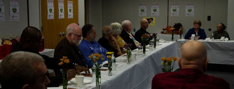 "Bishop meets with pastors, prepares for ""Ad Limina"" meeting; Pastoral Care Week luncheon hosted at Chancery"