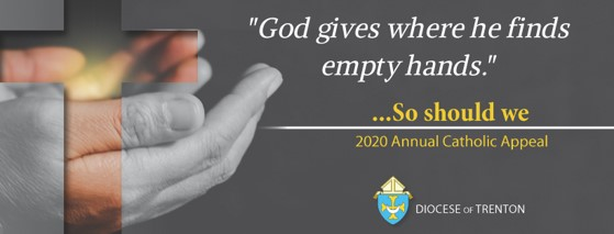 2020 Annual Catholic Appeal launched; Catholic Press Month underway; Chancery closed for President's Day