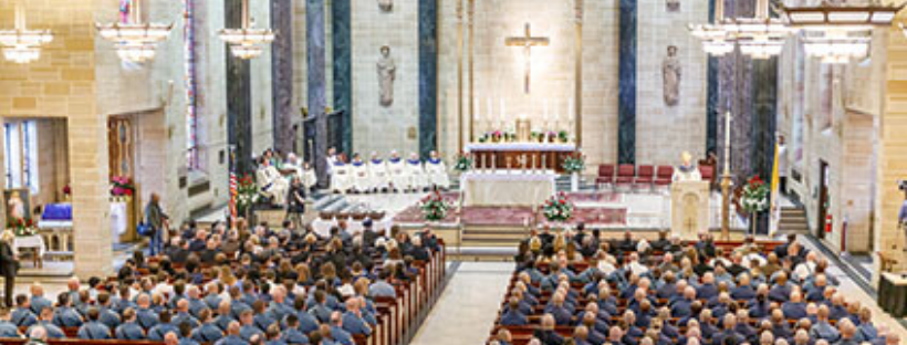 Clergy appointments announced; Five parishes to keep doors open for 24 Hours for the Lord; Annual diocesan Blue Mass set for April 21
