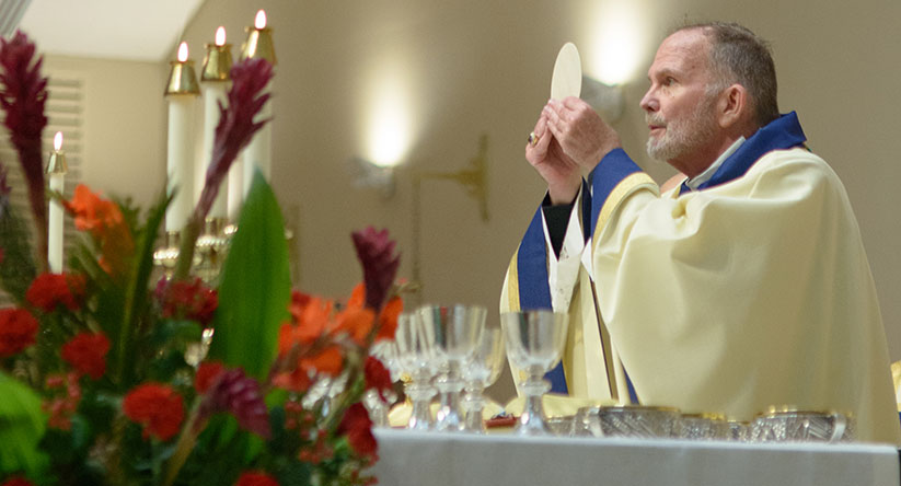 Priests will pray for the faithful, all impacted by virus in synchronized Mass tonight