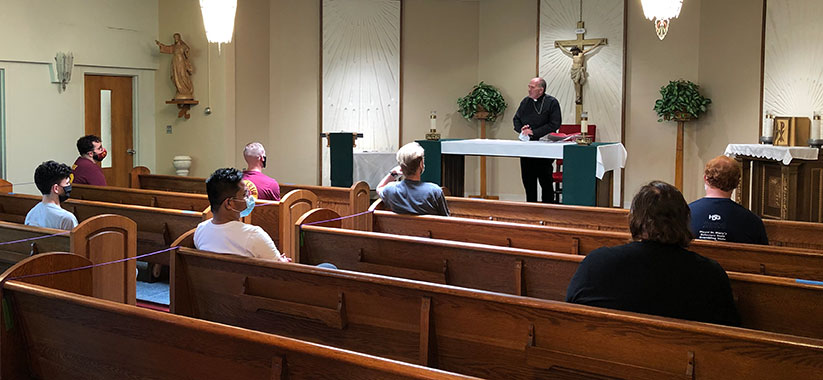Seminarians share week of prayer and formation; Discernment event for priesthood; Married couples to learn about Natural Family Planning