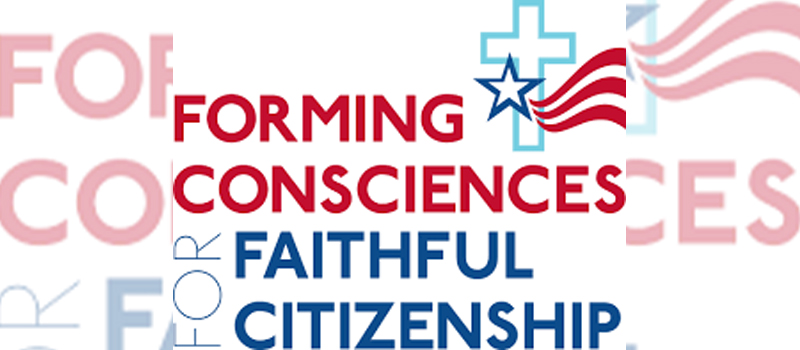 Catholics Vote!: 'Forming Consciences for Faithful Citizenship'