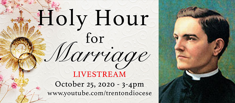 Celebrating anniversary couples • Guardian Angel Benefit of Hope virtual celebration • Mass for Venerable Father McGivney, Knights' founder