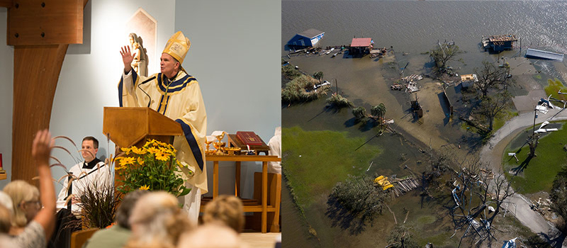 Appeal for hurricane aid • Worldwide calls for prayer • Clergy appointments