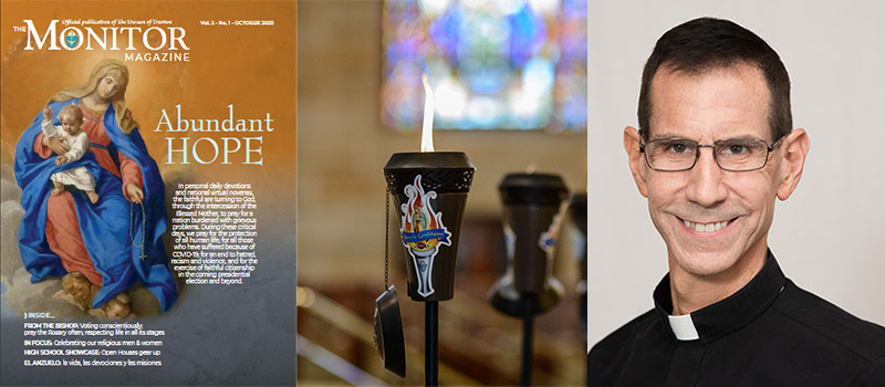 New issue of The Monitor Magazine • Guadalupe torch event to begin • Father Coppola dies • Diaconate info sessions set to begin • Webinar for parish catechetical leaders