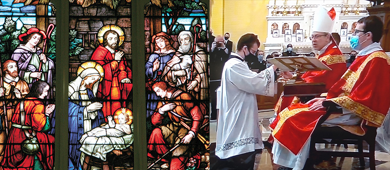 Bishop on preparing for Christmas during COVID • Seminarian receives the Ministry of Acolyte