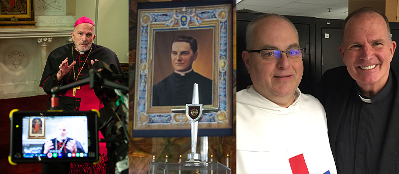 Beauty Heals series • Beatification of Father McGivney • Death of Father Thomas Morris • Our Lady of Guadalupe torches