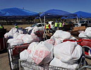 Prayer and support for relief from winter storm disasters in Texas