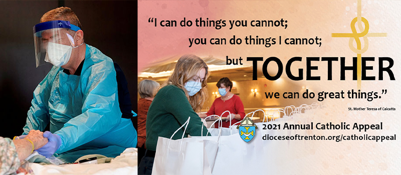 World Day of the Sick • 2021 Annual Catholic Appeal launched • New vocations website