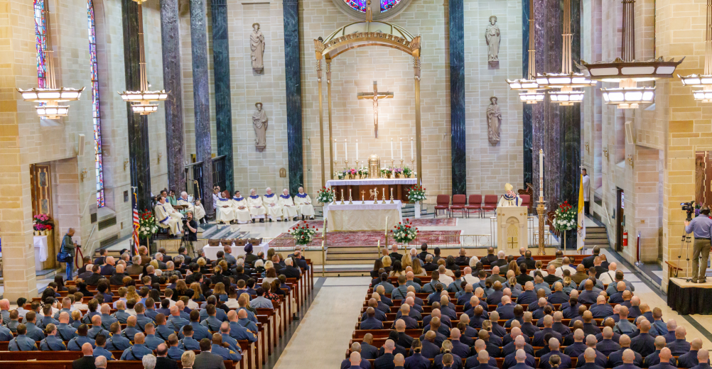 Announcement on the Annual Mass and Celebration of Law Enforcement