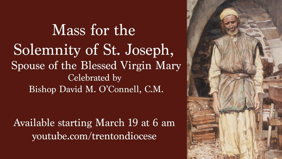 The Diocese of Trenton celebrates St. Joseph for feast day, designated year