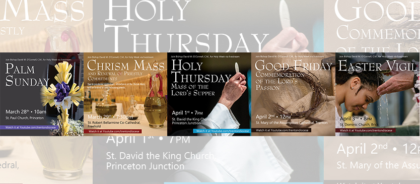 Catholics to connect in-person and virtually to commemorate Holy Week and Easter
