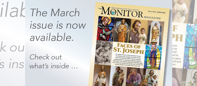 In the March issue of the Monitor Magazine . Clergy appointments