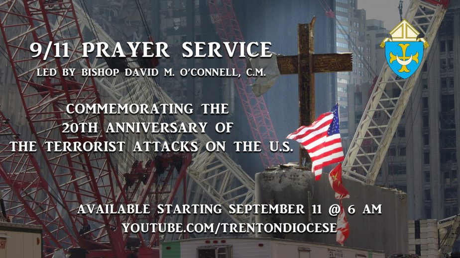 Faithful invited to join Bishop in online prayer service to mark 20th anniversary of 9/11