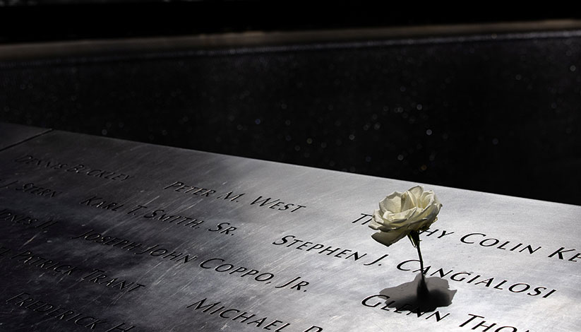 Bishop O'Connell remembers September 11, 2001, in reflection, podcast • 9-11 observances