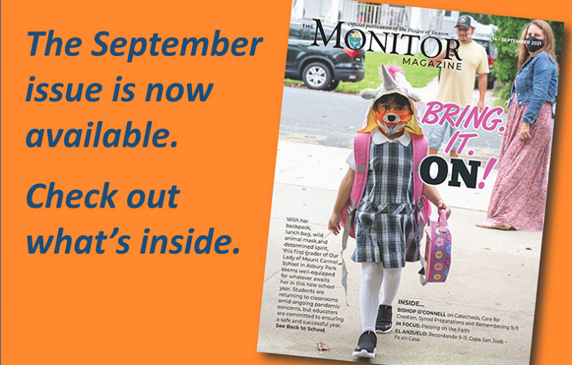 Schools up to the challenge • 9-11 service • September issue of The Monitor Magazine