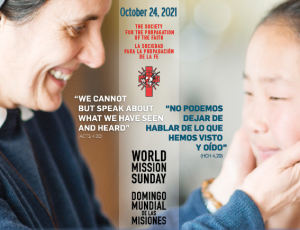 Diocese to join in observing World Mission Sunday Oct. 24